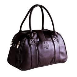 Lassig Fashion Shoulder Eco-Friendly Diaper Bag, Faux Leather Braun