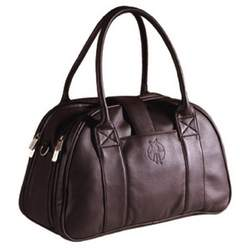 Lassig Fashion Shoulder Eco-Friendly Diaper Bag, Faux Leather Braun