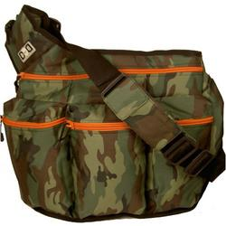Diaper Dude Messenger Diaper Bag in Camouflage
