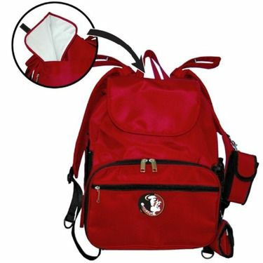 Fan Creations Florida State University Diaper Bag in Garnet