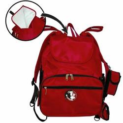 Fan Creations Florida State University Diaper Bag in Garnet