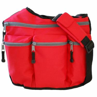 Diaper Dude Diaper Bag - Red Messenger