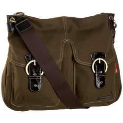 StorkSak Jess Shoulder Diaper Bag,Army,one  size