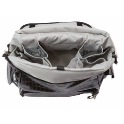 WhodaThought Mrs. Smith's Elite Diaper Bag, Platinum