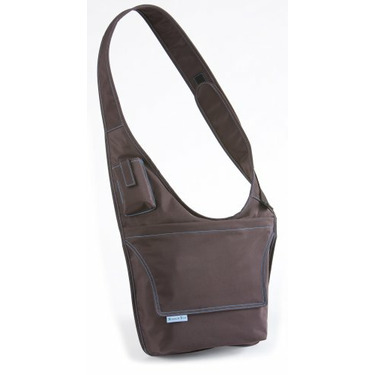 McKenzie Kids Messenger Bag Brown/Aqua