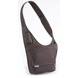 McKenzie Kids Messenger Bag Brown/Aqua