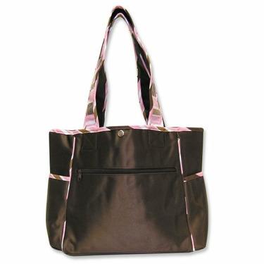 Trend Lab Maya Tulip Tote Bag with Changing Pad