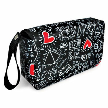 Bumkins Keith Haring Clutch Bag, Graffiti