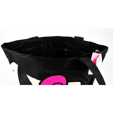 Hello Kitty Tote Shoulder Shopping Bag Tote Black