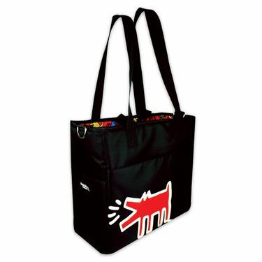 Bumkins Keith Haring Grande Diaper Bag, Animal