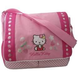 Hello Kitty Diaper Bag, Strawberries/Flowers