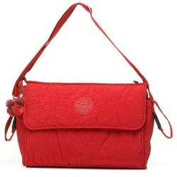 Kipling TM3405 Supernanny Diaper Bag with Changing Pad, Red