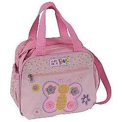 BABY ESSENTIALS BUTTERFLY DIAPER TOTE COOLER BAG INSULATED