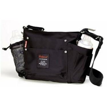 BabyMel Mens Diaper Bag Tool Pouch - Black