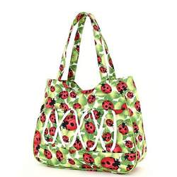 Ladybug Handbag Purse Tote Diaper Bag Large