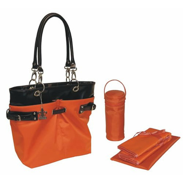 Ultimate Diaper Tote in Orange