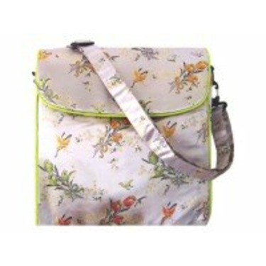 Shanghai Violet Convertible Messenger Diaper Bag