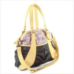 Gladiola Diaper Bag in Lavender