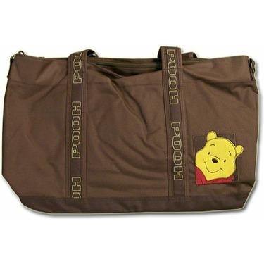 Winnie the Pooh Large Brown Messenger Diaper Bag
