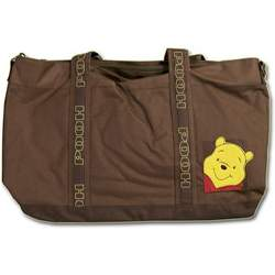 Winnie the Pooh Large Brown Messenger Diaper Bag