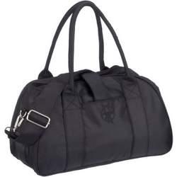 Lassig Shoulder Eco-Friendly Diaper Bag, Glam Black