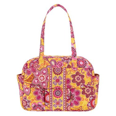 Vera Bradley Baby Bag Bali Gold Purse