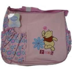 Winnie The Pooh Large Diaper Bag in Pink