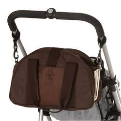 Lassig Shoulder Eco-Friendly Diaper Bag, Graphic Flaming