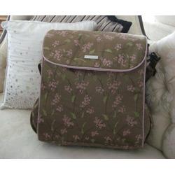 Shanghai Toffee Convertible Messenger Diaper Bag