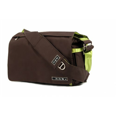 Ju Ju Be Be All Diaper Bag, Brown/Envy