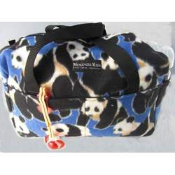 PANDA Diaper Bag & Travel Bag | Duffel Bag made of Fleece Material by McKenzie Kids