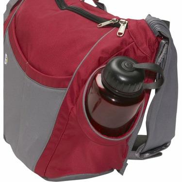 Go GaGa Slide Tote Made From Recycled Material - Eggplant