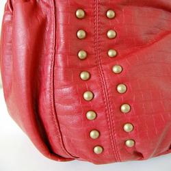 Hobo Sack Diaper Bag in Red