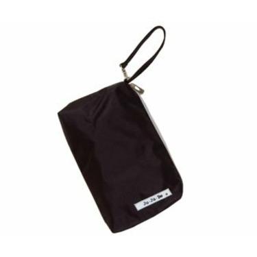 Ju Ju Be - JJB Messenger Diaper Bag in Black Silver