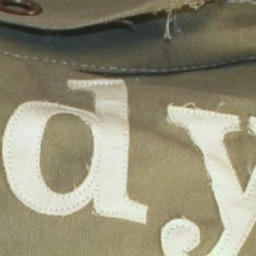 The Scoop News Bag - distressed green