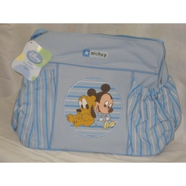 Disney Baby Large Diaper Bag Mickey Blue