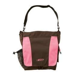 BOB Stroller Diaper Bag in Chocolate/Pink