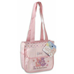 CARE BEARS PINK COOLER TOTE DIAPER BAG NEW