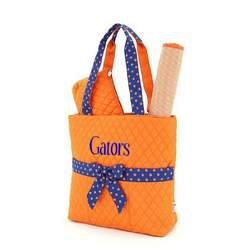 Belvah Gators 3pc Diaper Tote Bag
