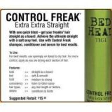 Bed Head- Control Freak Extra Extra Straight