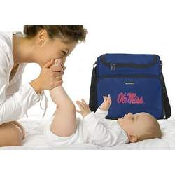 Ole Miss Logo UM University of Mississippi College Logo Diaper Bag - Baby Bag - BEST Baby Shower GIFT for New Dad, Father or New Mom Mother GIFTS