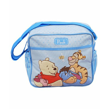 """Winnie the Pooh """"Pooh Medley"""" Small Diaper Bag - colors as shown, one size"""