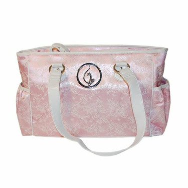 Baby Phat Asian Print Diaper Bag