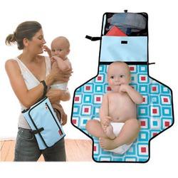 Pronto Diaper Bag in Ice Blue