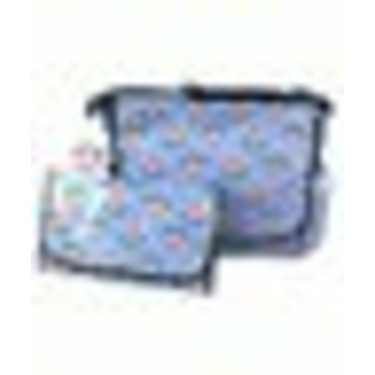 "Paul Frank ""Julius"" Messenger Diaper Bag - pink, one size"