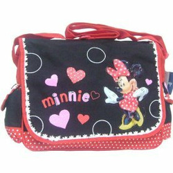 Disney Minnie Mouse Messenger Bag - Happy Hearts