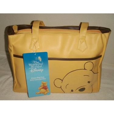 Disney Pooh Bear Baby Boy Girl Diaper Bag : Yellow