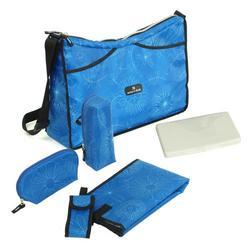 Mumz 'n' Dadz D Sport Hobo Diaper Bag, Blue
