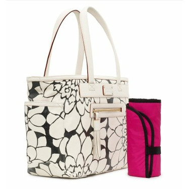Kate Spade Coal Neptune Avenue Baby Shopping Bag