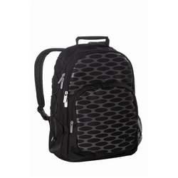 Lassig Backpack Eco-Friendly Diaper Bag, Mesh Black